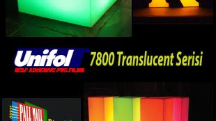 Unifol 7800 Translucent Seri